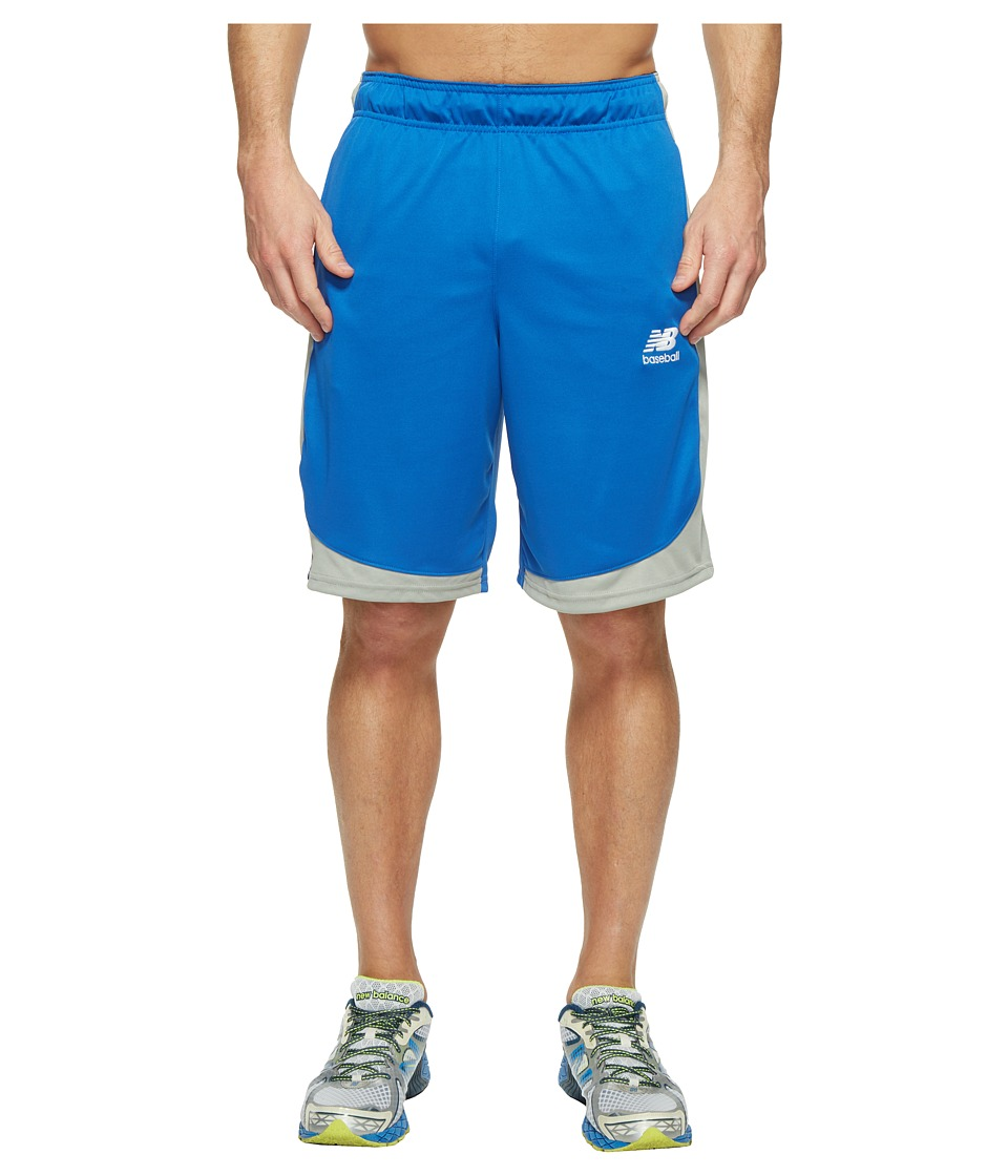 New Balance Baseball Training Shorts (Team Royal) Men