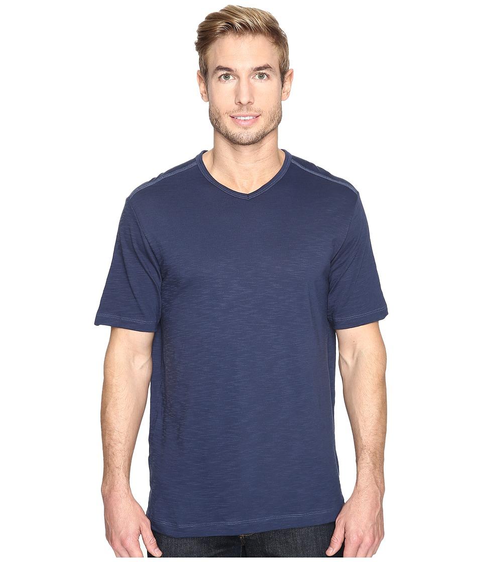 Tommy Bahama - Portside Player V-Neck Tee (Maritime) Men's Short Sleeve Pullover