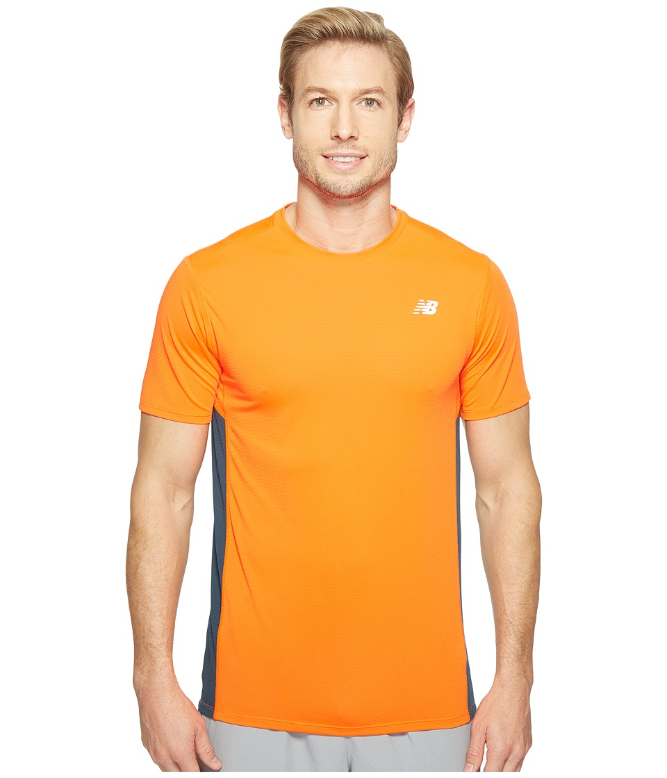 New Balance Accelerate Short Sleeve (Alpha Orange/Supercell) Men