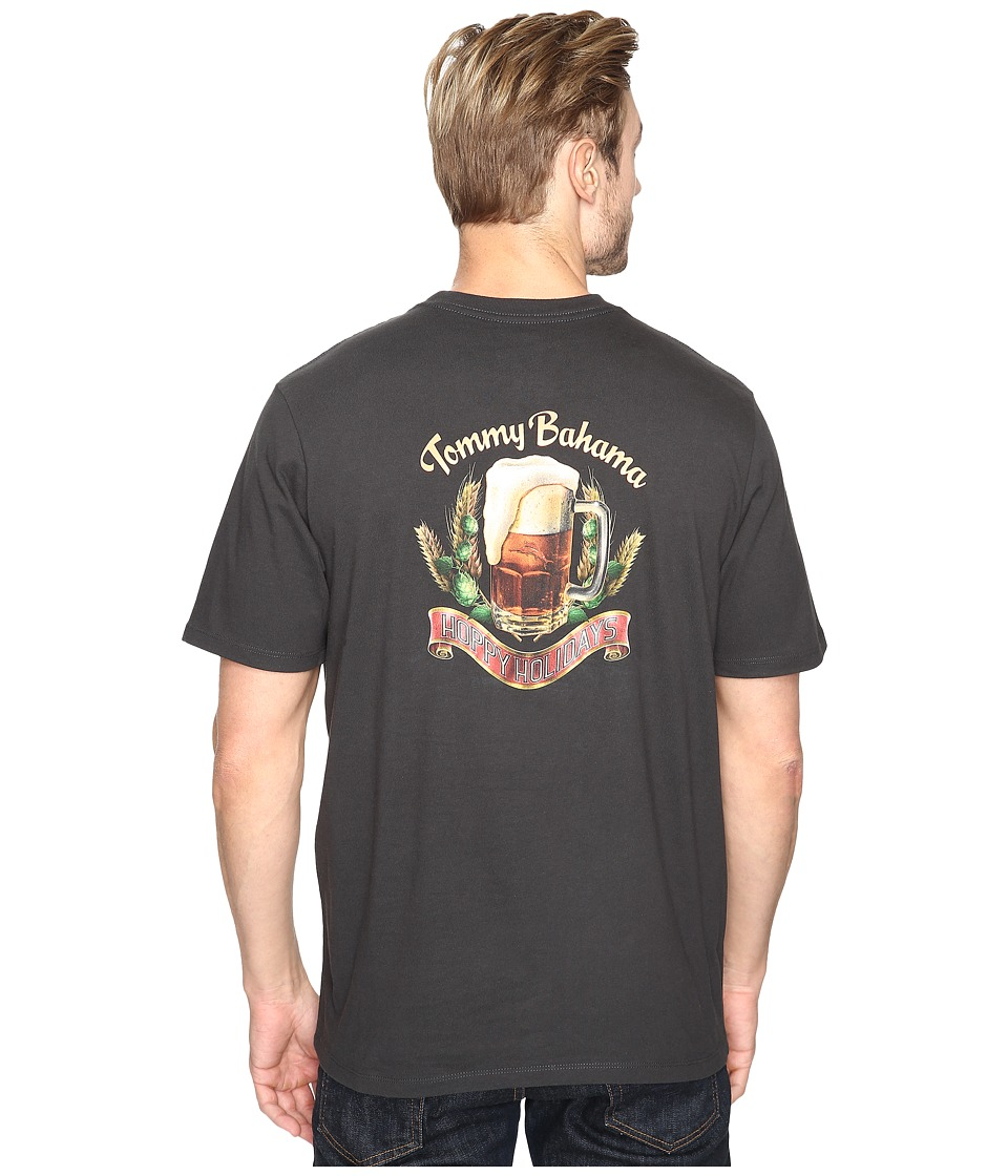 Tommy Bahama Hoppy Holidays Tee (Coal) Men