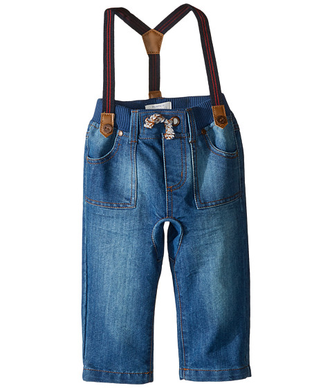 Pumpkin Patch Kids Crotch Panel Jeans with Suspenders (Infant)