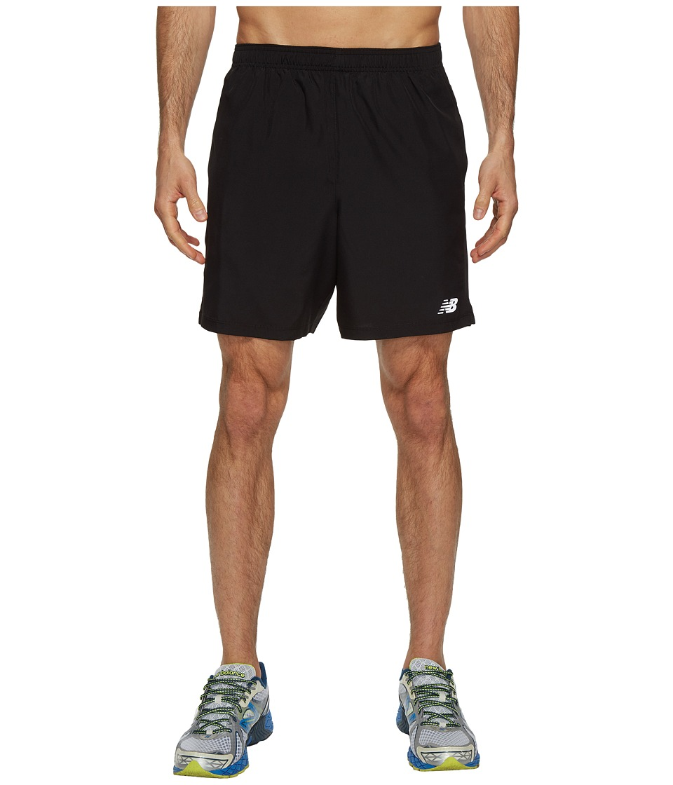 New Balance Accelerate 7 Short w/ Brief (Black) Men