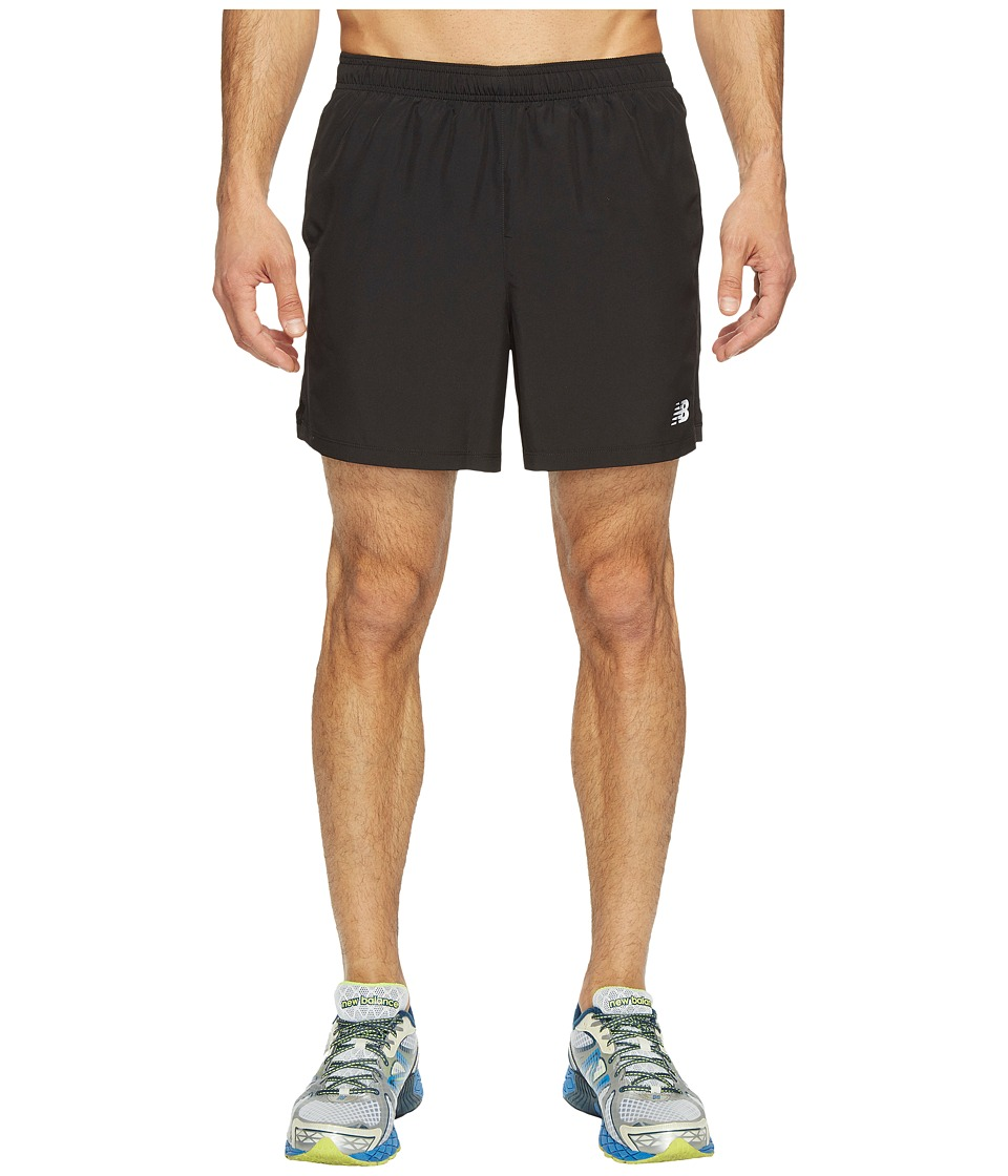 New Balance Accelerate 5 Shorts (Black) Men