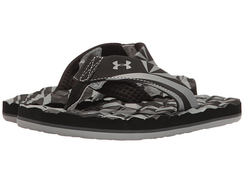 Under Armour Kids UA Marathon Key II T (Toddler/Little Kid/Big Kid) - Black/Grey Wolf/Rhino Grey