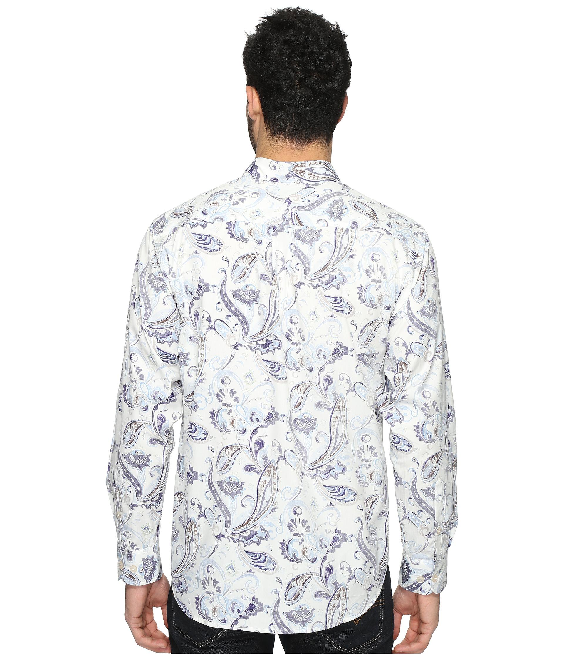 Tommy bahama paulo paisley long sleeve woven shirt at for Tommy bahama long sleeve dress shirts
