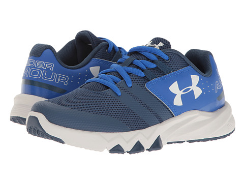 Under Armour Kids UA BGS Primed (Big Kid) - Blackout Navy/Ultra Blue/Aluminum