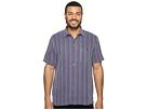 Tommy Bahama Zaldera Stripe Short Sleeve Woven Shirt