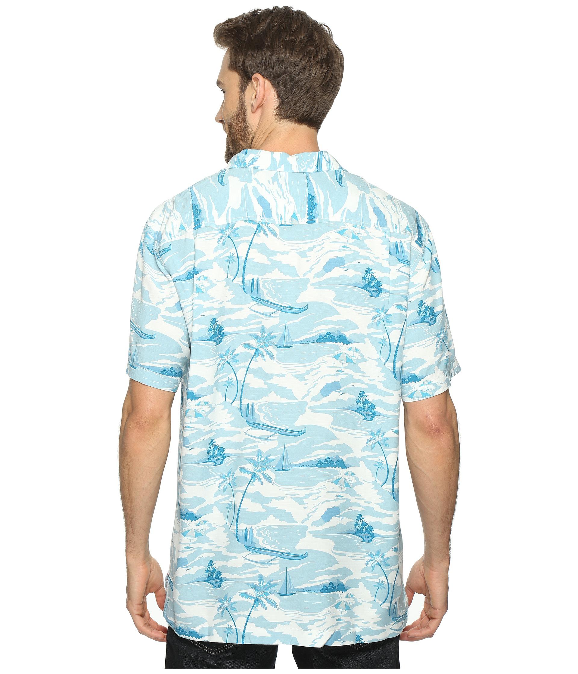 Tommy Bahama Ohana Outrigger Short Sleeve Woven Shirt