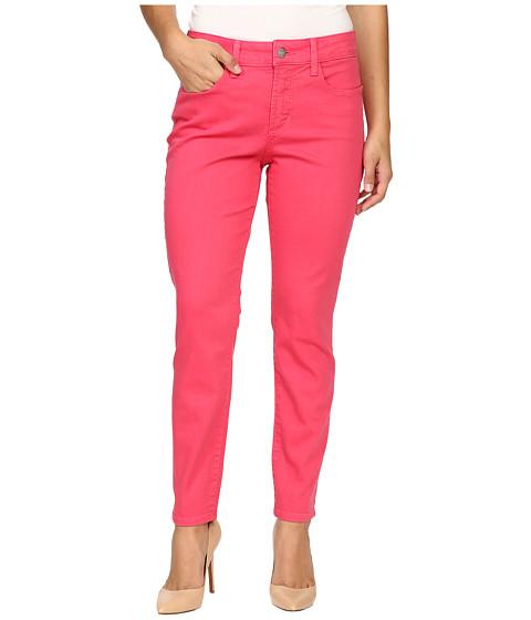 NYDJ Petite Petite Clarissa Ankle Jeans in Exotic Melon Colored Bull Denim