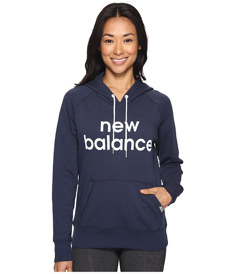 New Balance Classic Pullover Hoodie - Navy