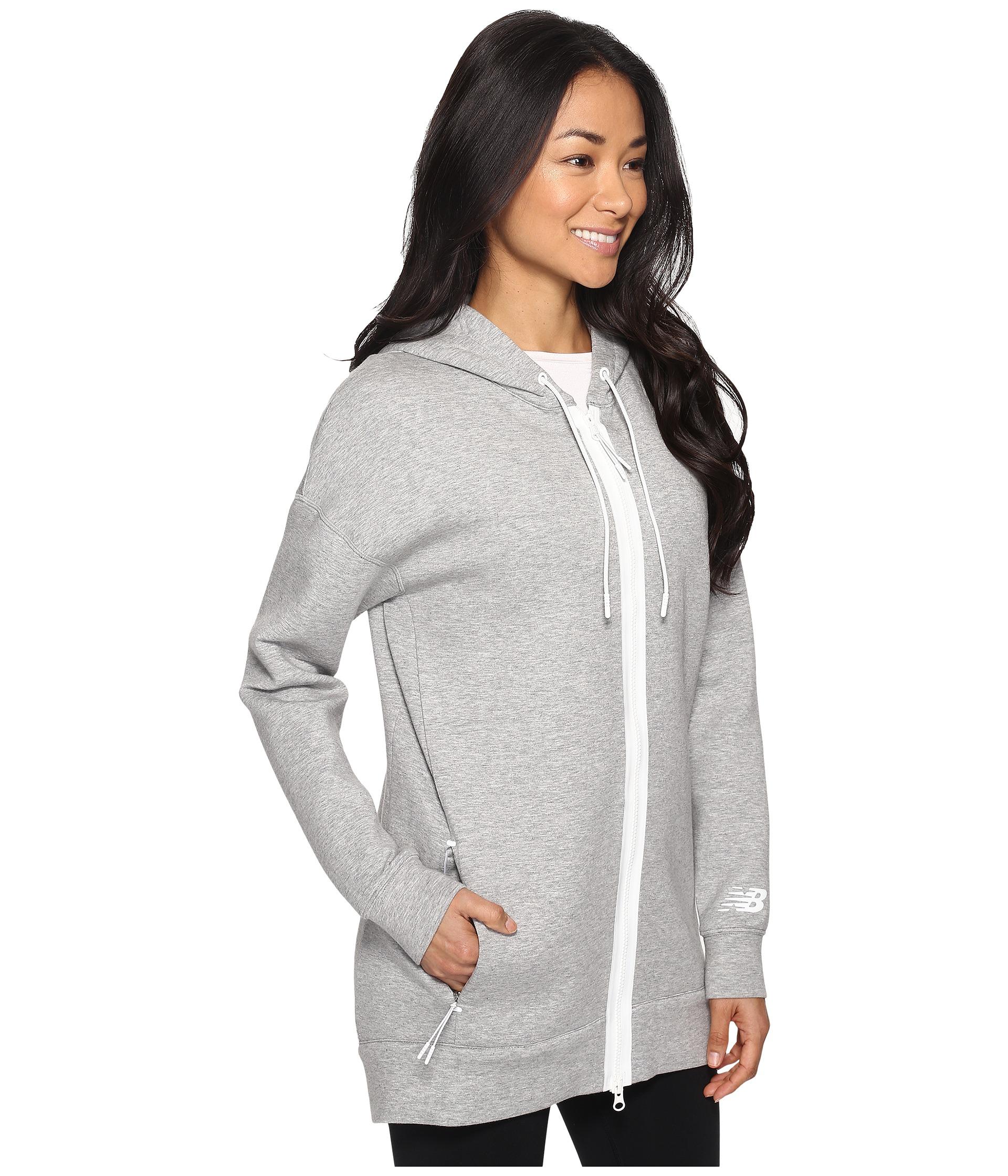 new balance sport style fleece hoodie athletic grey. Black Bedroom Furniture Sets. Home Design Ideas