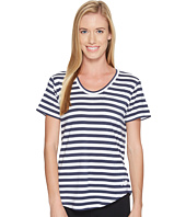 New Balance - Stripe Scoop Neck Tee