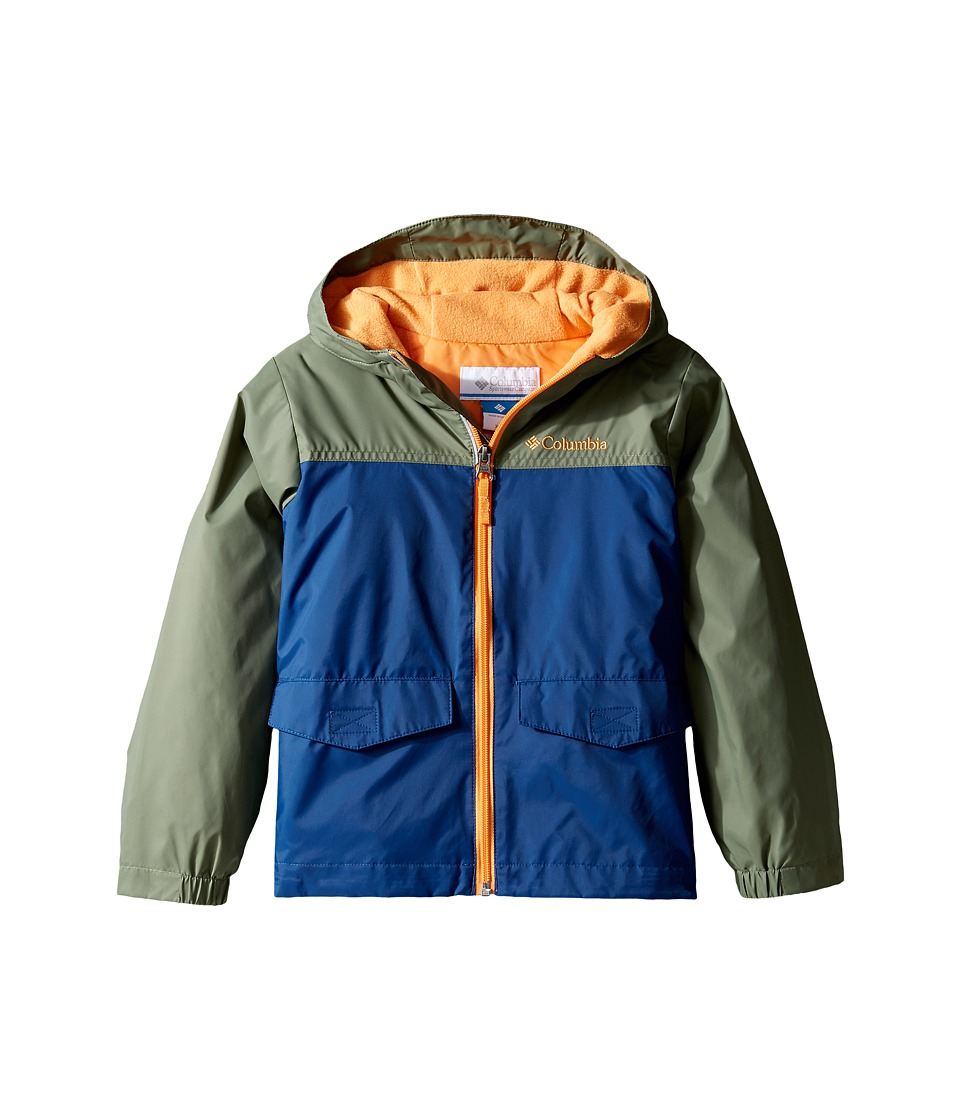 Columbia Kids Rain-Zilla Jacket (Little Kids/Big Kids) (Carbon/Cypress/Koi) Boy