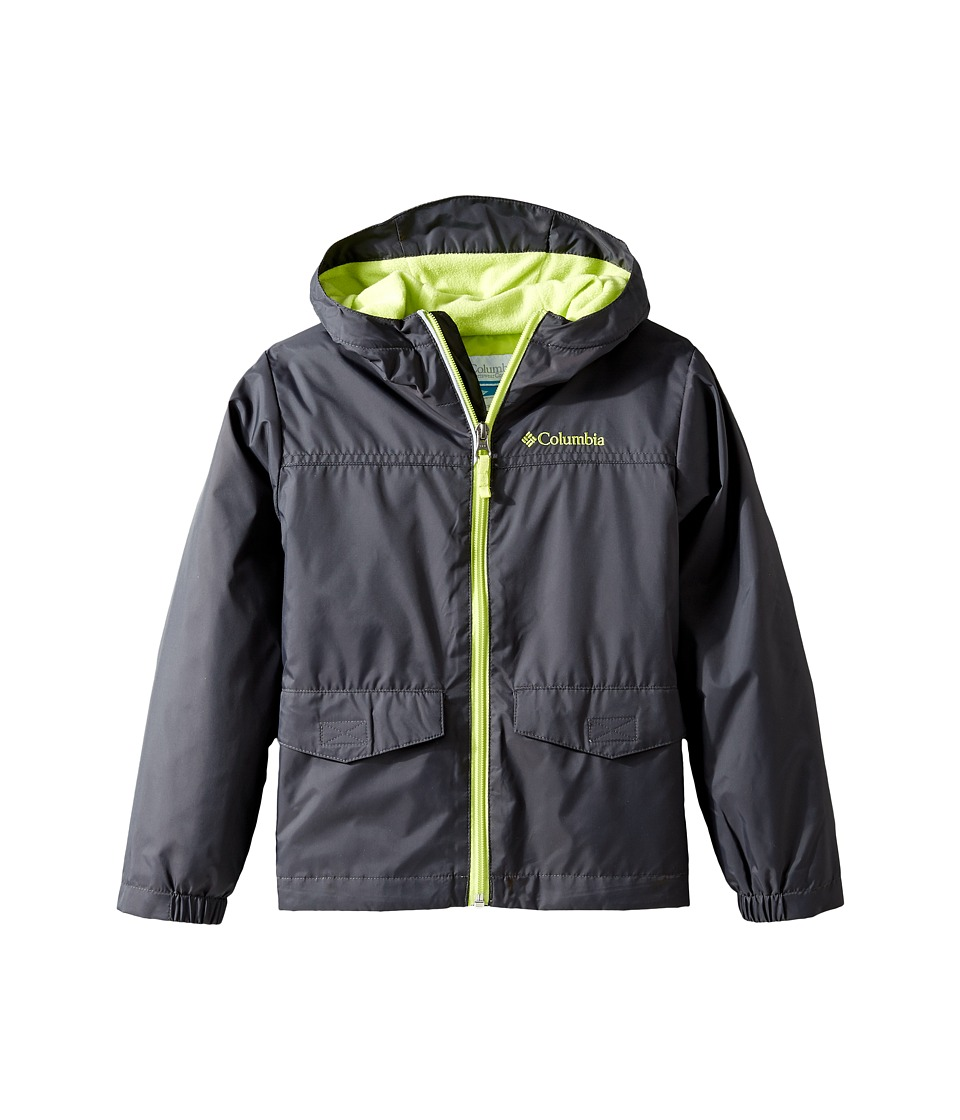 Columbia Kids Rain-Zilla Jacket (Little Kids/Big Kids) (Shark/Voltage) Boy