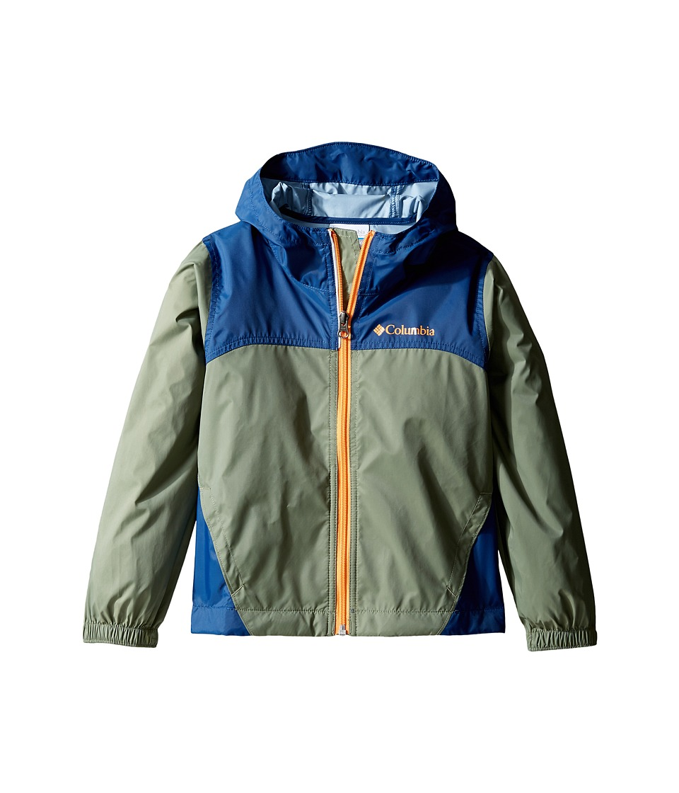 Columbia Kids Glennaker Rain Jacket (Little Kids/Big Kids) (Cypress/Carbon/Koi) Boy