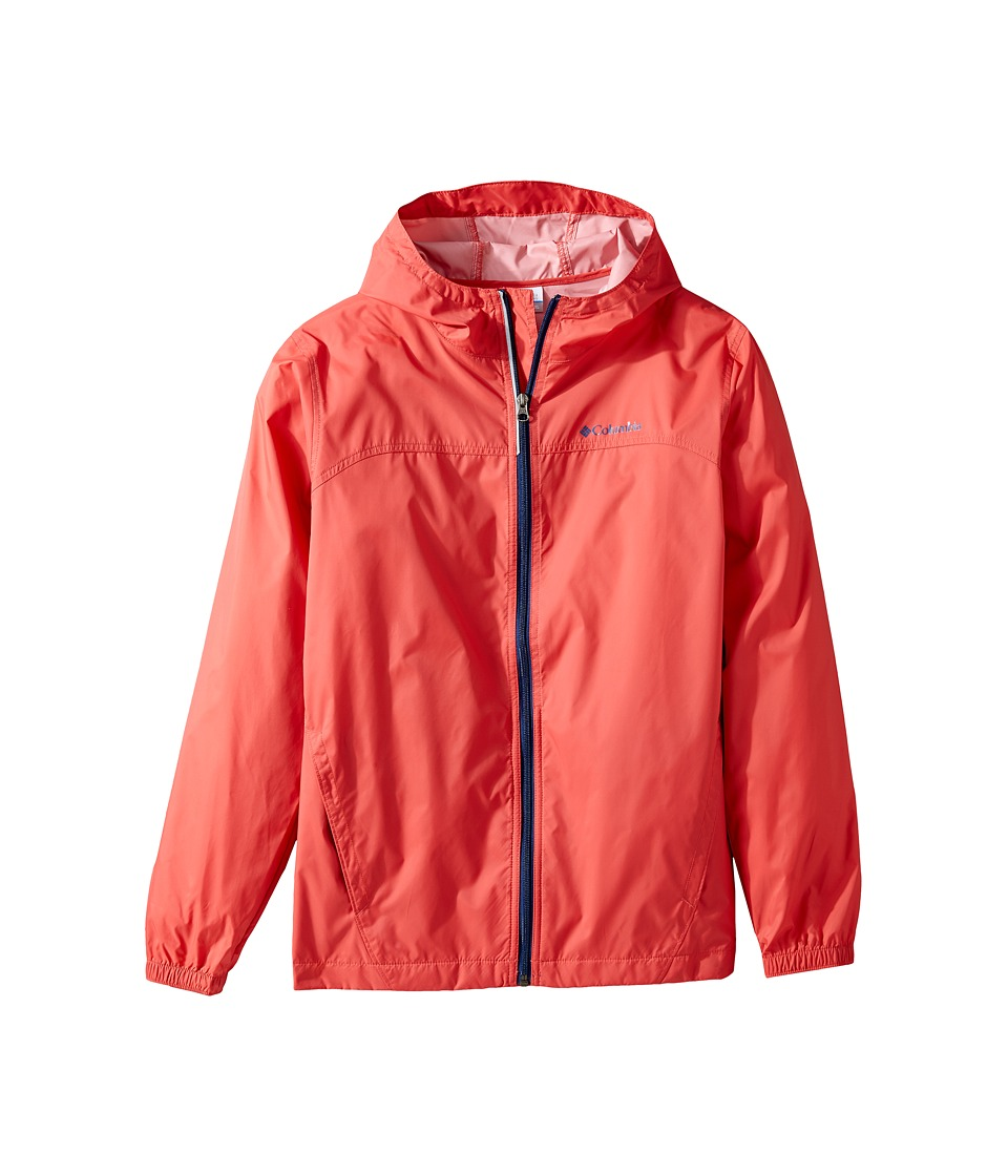 Columbia Kids Glennaker Rain Jacket (Little Kids/Big Kids) (Sunset Red) Boy