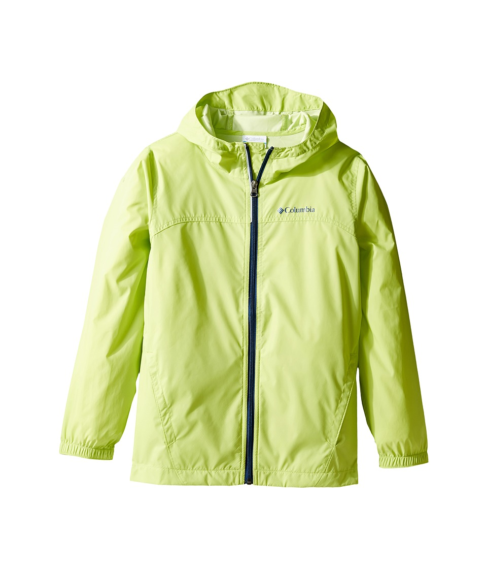 Columbia Kids Glennaker Rain Jacket (Little Kids/Big Kids) (Voltage/Carbon) Boy