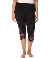 Marika Curves - Pieced High Rise Capri Leggings
