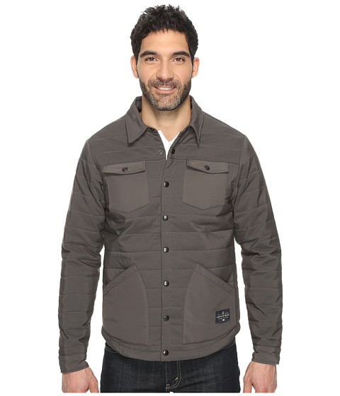 United By Blue Bison Snap Jacket - Charcoal