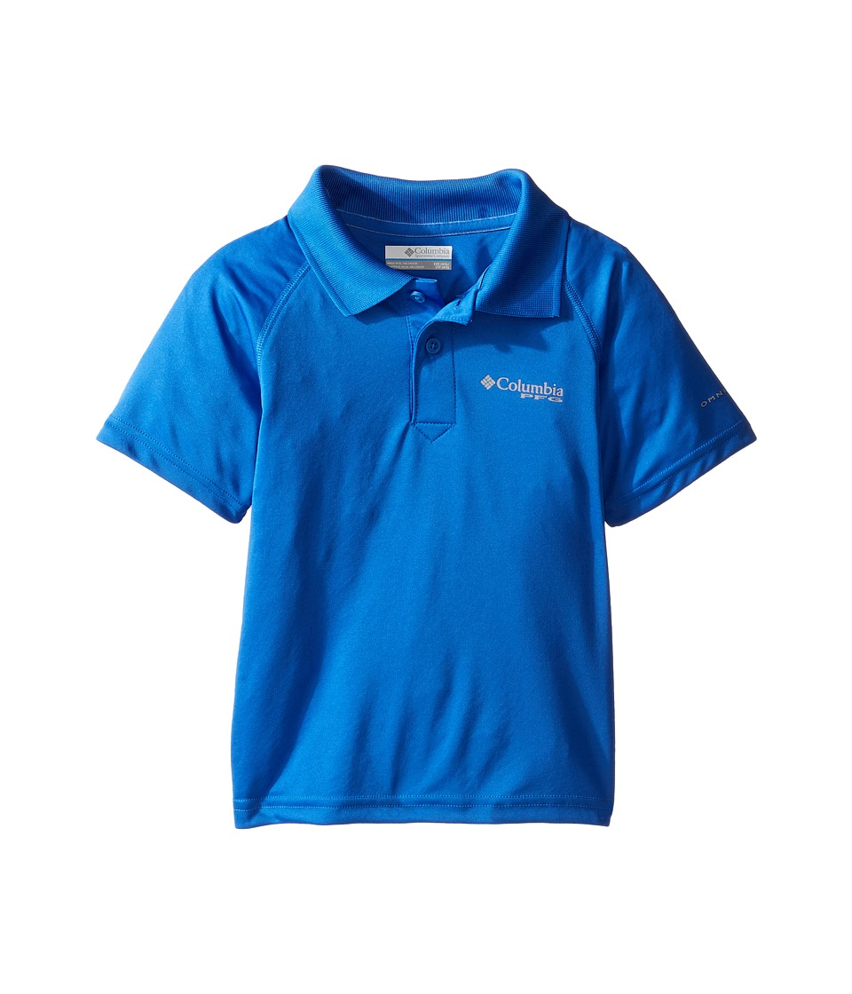 Columbia Kids - Terminal Tackletm Polo Shirt (Little Kids/Big Kids) (Vivid Blue) Boys Short Sleeve Pullover