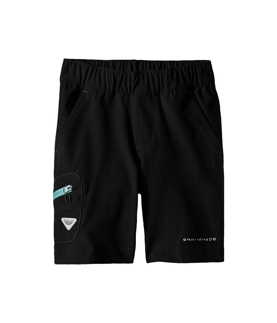 Columbia Kids - Terminal Tackle Shorts (Little Kids/Big Kids) (Black/Gulf Stream) Boys Shorts