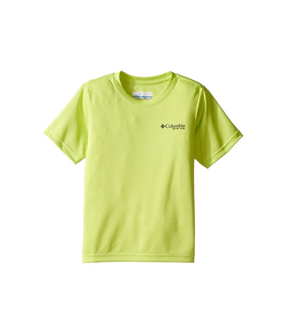 Columbia Kids PFG Triangle Digicamo Tee (Little Kids/Big Kids) (Voltage) Boy