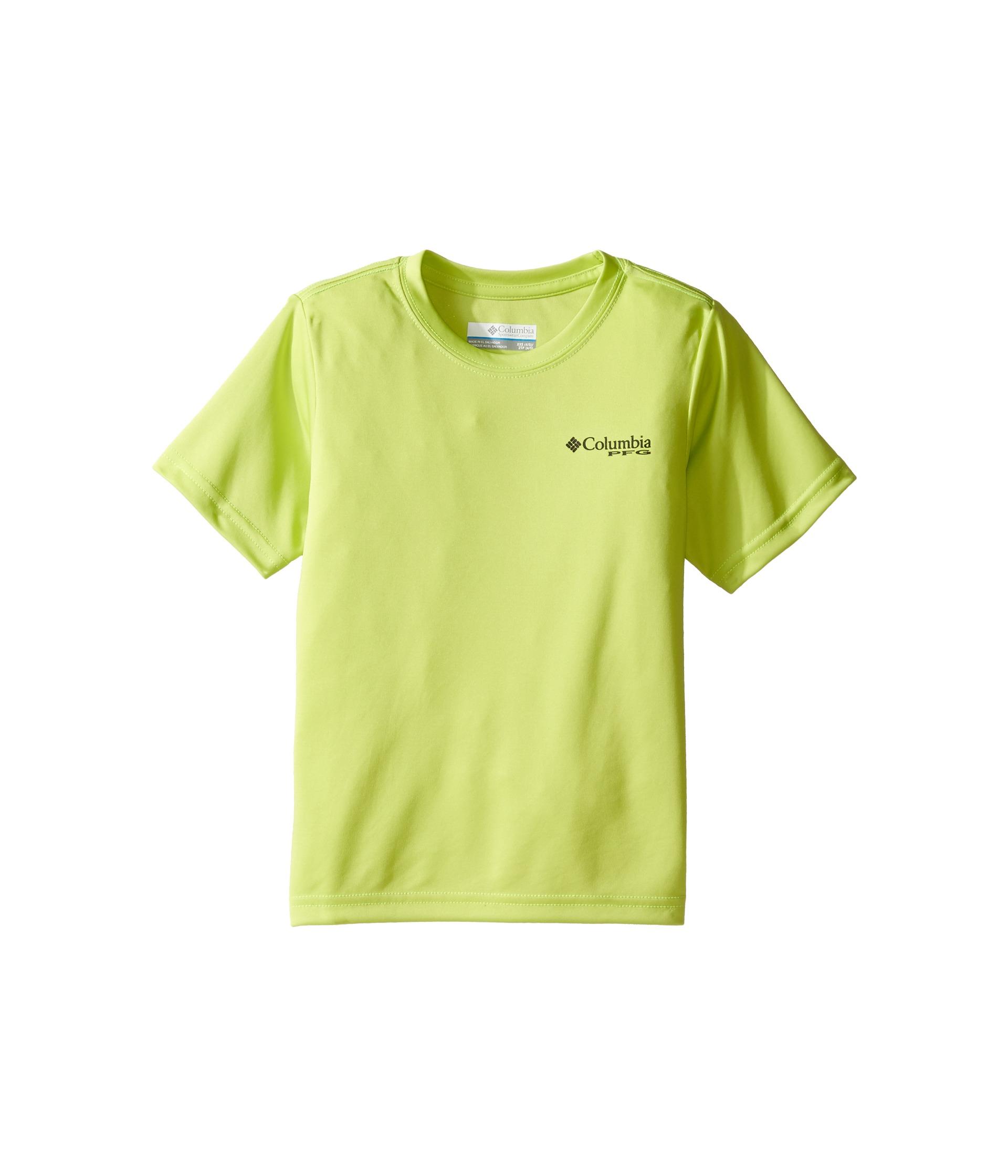Columbia kids pfg triangle digicamo tee little kids big for Toddler columbia fishing shirt
