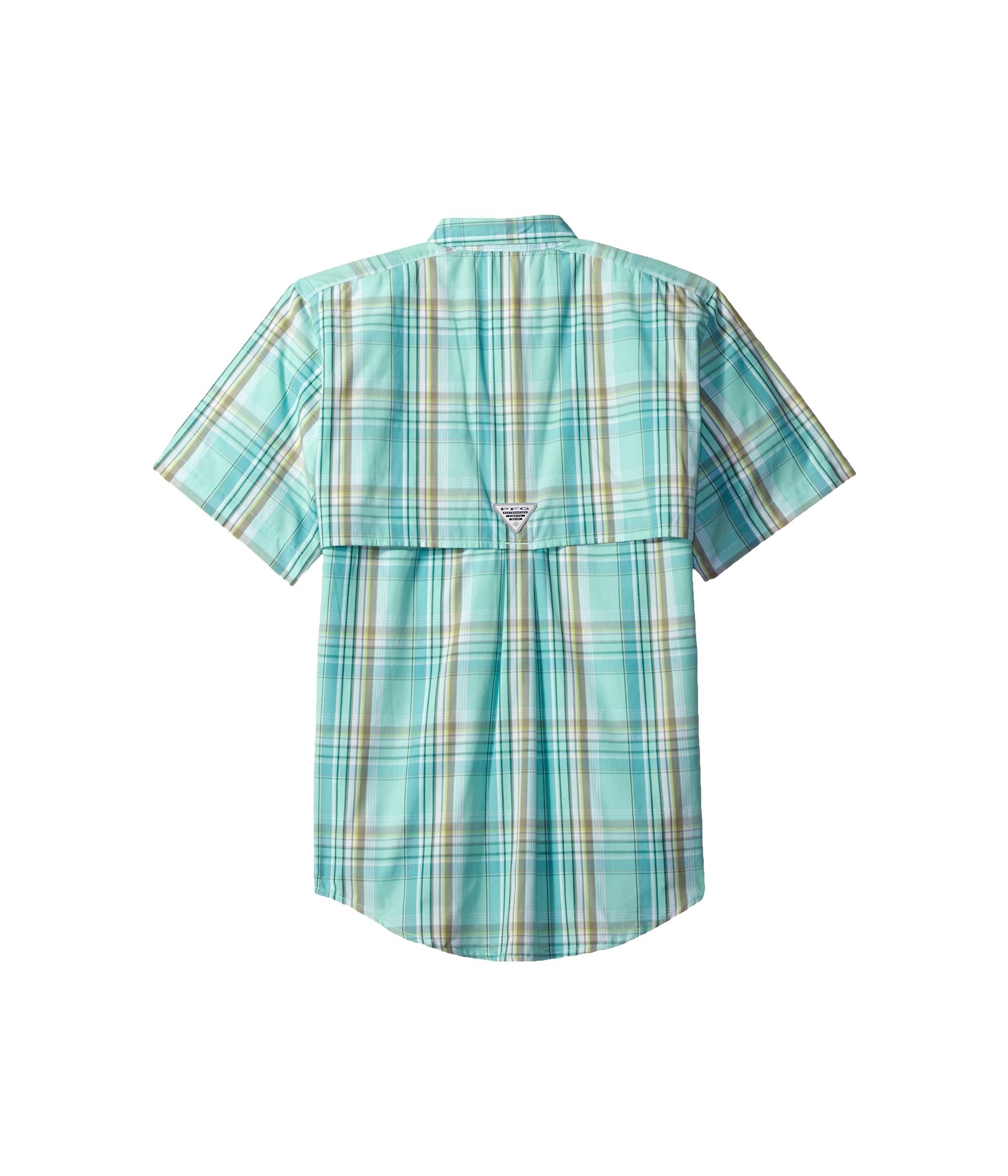 Columbia kids super bonehead s s shirt little kids big for Toddler columbia fishing shirt