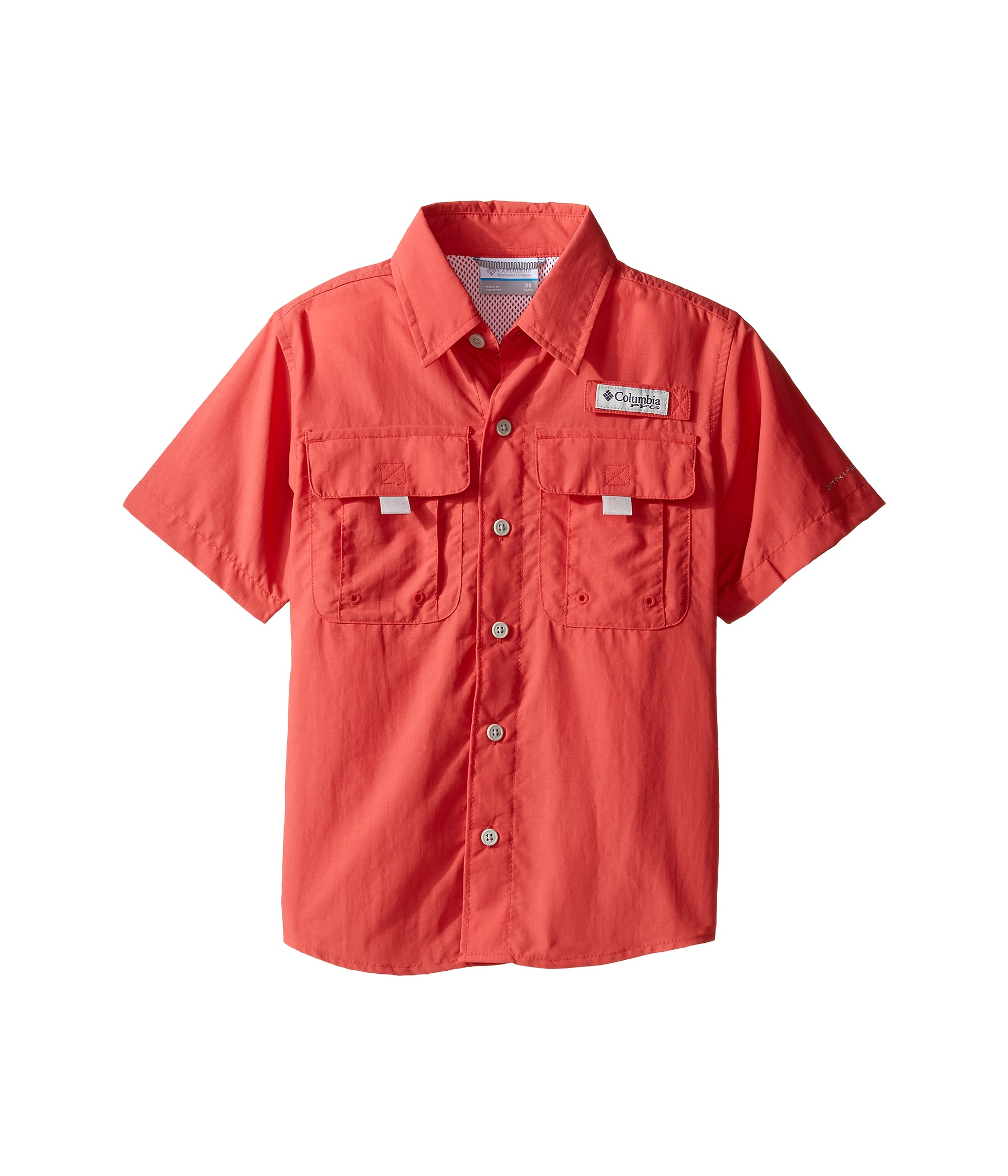 Columbia kids bahama short sleeve shirt at for Baby fishing shirts columbia