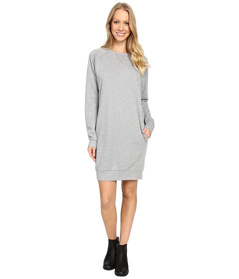 United By Blue Walsh Raglan Fleece Dress - Grey