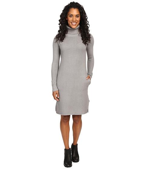 United By Blue Luna Waffle Sweater Dress - Grey