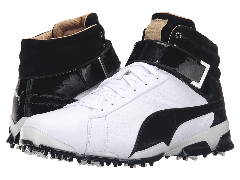 PUMA Golf - Titantour Ignite Hi-Top SE (White/Black) Men