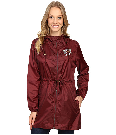 United By Blue Singley Packable Parka - Oxblood