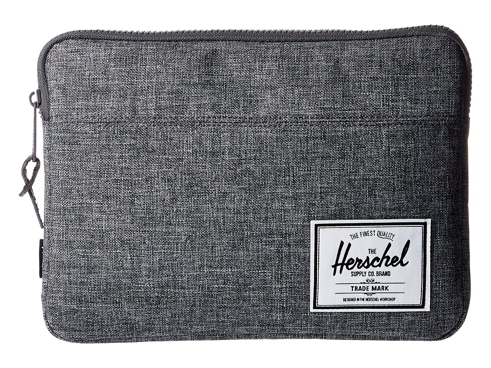 Herschel Supply Co. Anchor Sleeve for iPad Air (Raven Crosshatch) Computer Bags