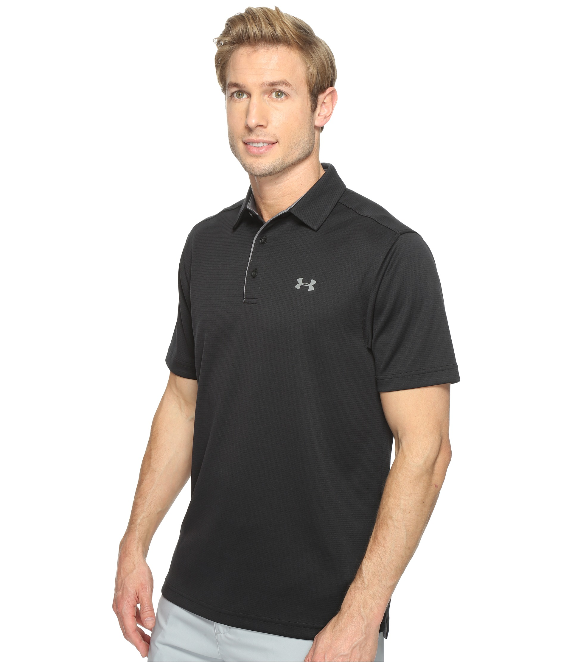 under armour golf tech polo at. Black Bedroom Furniture Sets. Home Design Ideas