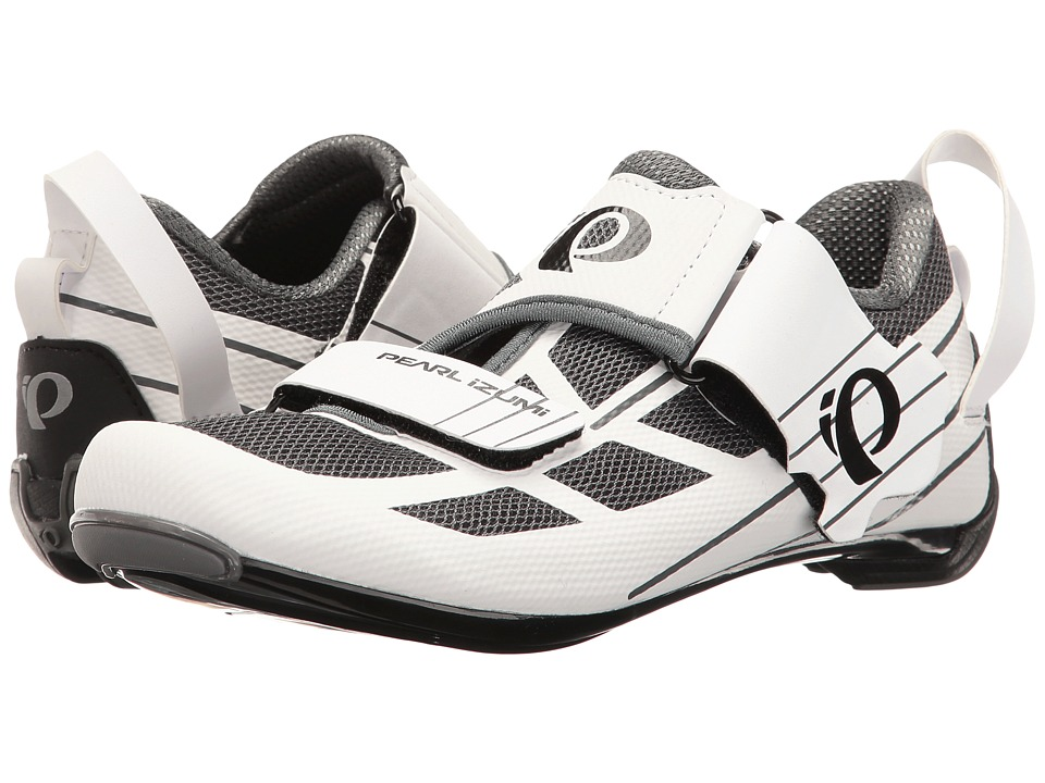 Pearl Izumi Tri Fly Select V6 (White/Shadow Grey) Women's Cycling Shoes