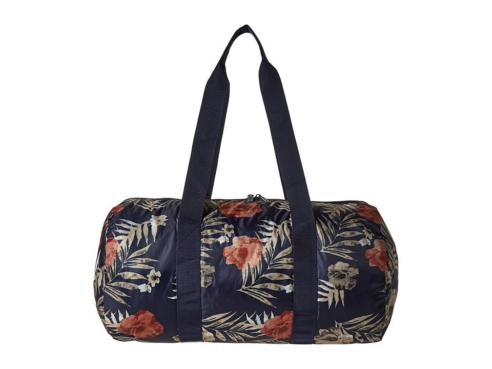 Herschel Supply Co. Packable Duffle (Peacoat Floria) Duffel Bags