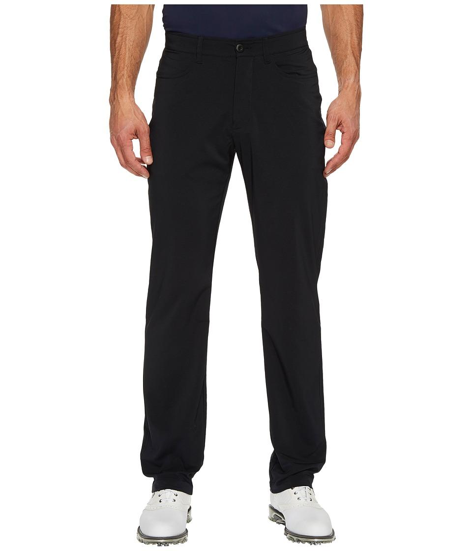 Under Armour Golf - Tech Pants (Black/Black) Mens Casual Pants