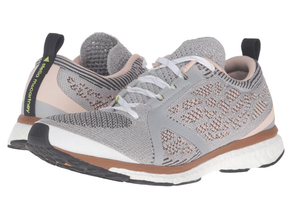 Image of adidas by Stella McCartney - Adizero Adios (Silver Met./Solid Grey F11/Cedar/SMC) Women's Running Shoes