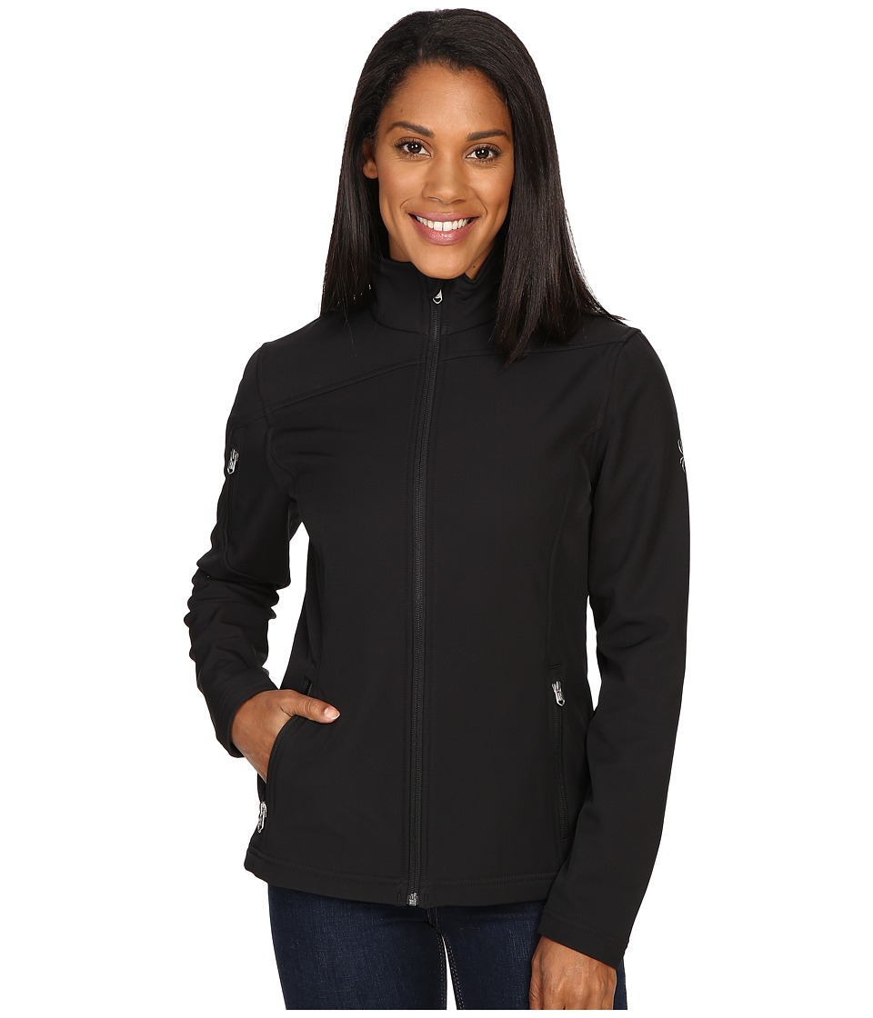 Spyder Fresh Air Softshell Jacket (Black) Women