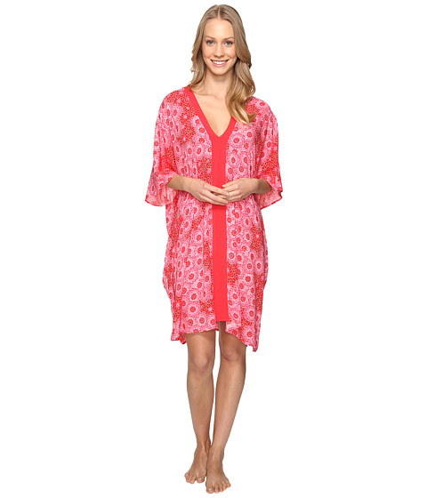 Josie Cosmos Taylor Tunic - Red/Pink