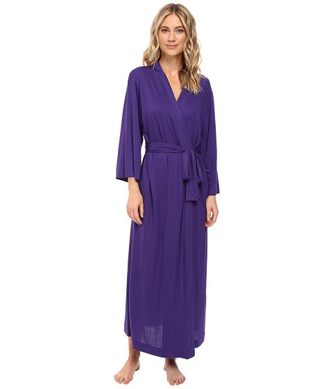 Natori Shangri-La Robe - Royal Purple