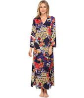 N by Natori - Enchanted River Zip Caftan