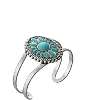 Lucky Brand - Floral and Turquoise Cuff Bracelet