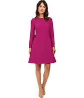 Ted Baker - Emorly Side Pleat Long Sleeve Dress