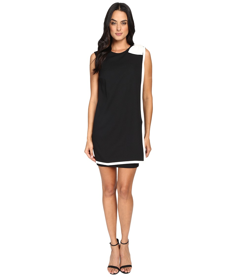 Ted Baker Elija Double Layer Dress with Bow (Black) Women