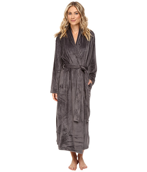 N by Natori Velour Robe w/ Headband
