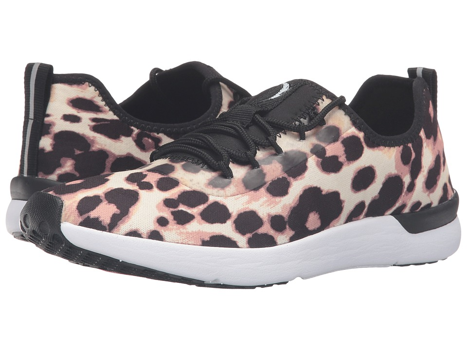 Jessica Simpson Farahh (Natural Leopard Jersey) Women