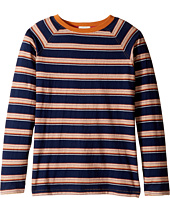 Pumpkin Patch Kids - Striped Long Sleeve Tee (Little Kids/Big Kids)