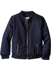 Pumpkin Patch Kids - Baseball Zip-Up Felt Jacket (Infant/Toddler/Little Kids/Big Kids)